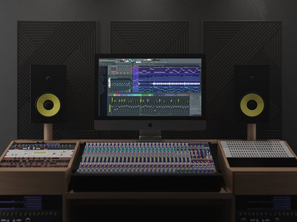 iMac Pro In Music Studio - Free Mockup