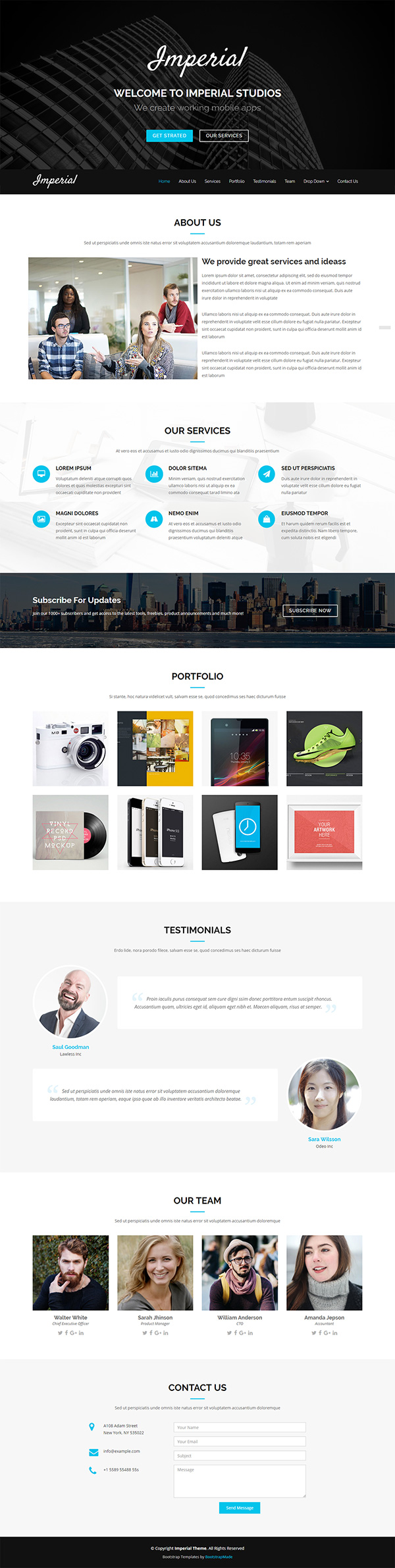 51+ Free Bootstrap Themes & Templates