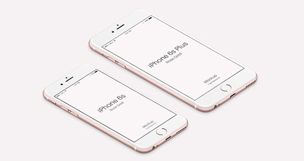 iPhone 6s Psd Rose Gold