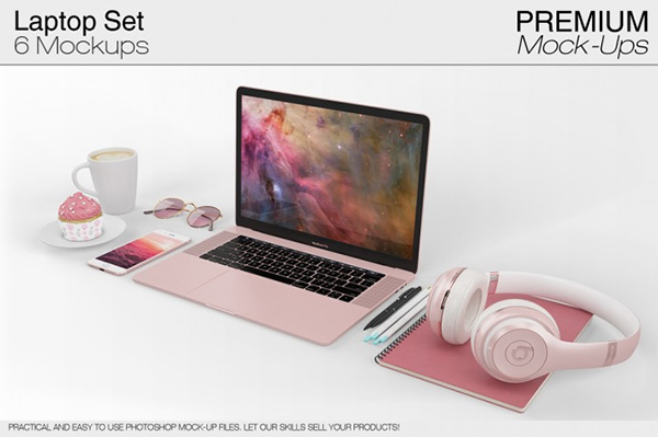 Laptop Mockup Set