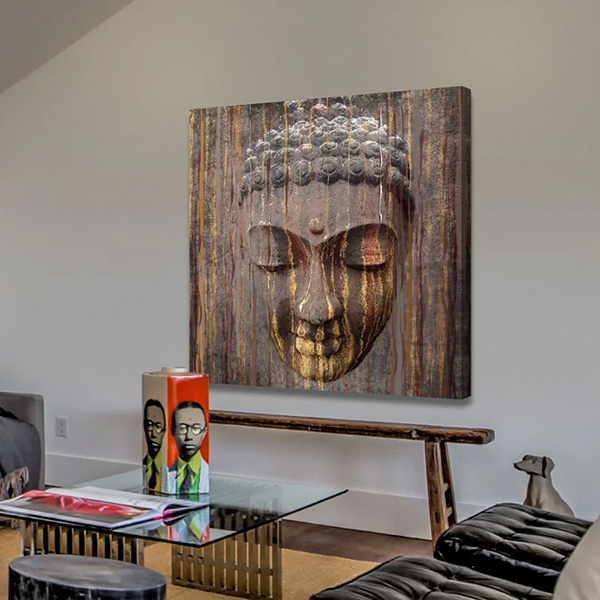 Buddha by Irena Orlov - Painting Print on Wrapped Canvas