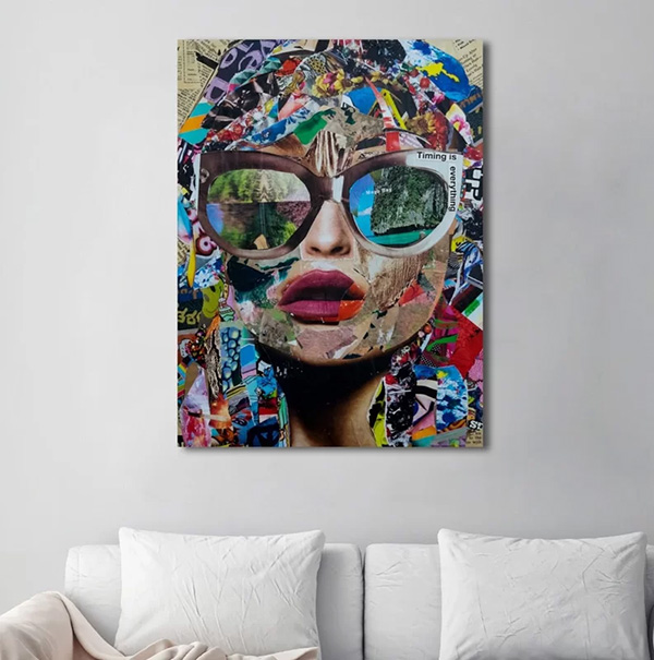 Timing Is Everything - Graphic Art On Canvas