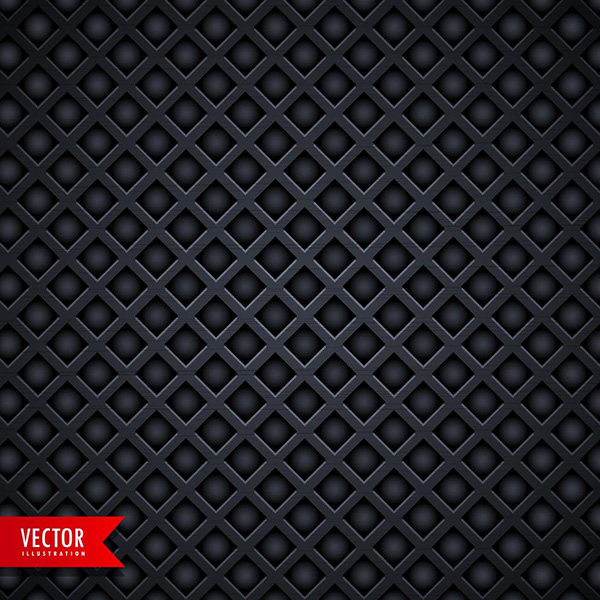 Stylish Metal Texture Dark Background With Diamond Shape Holes