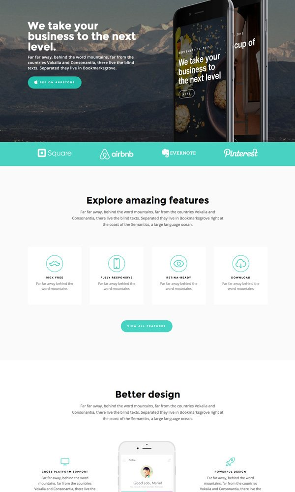 Outline – Free HTML Template