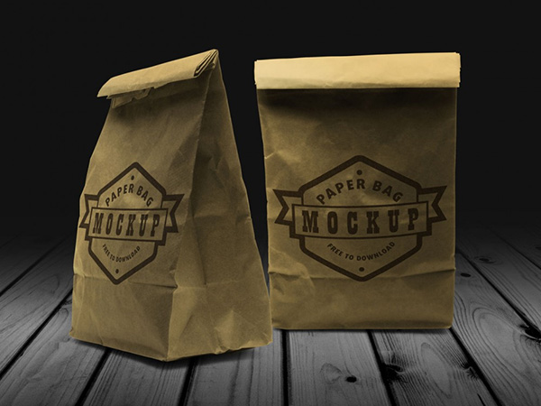 Paper Bag – Free Mock-up