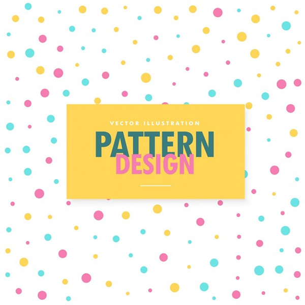 Pattern of Colored Dots