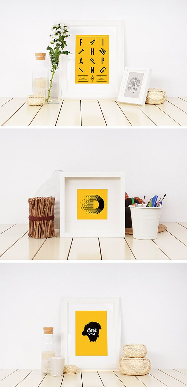 Photo Frame Mockup Templates