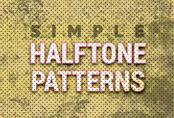 16 Free Halftone Seamless Texture (PNG) & Patterns