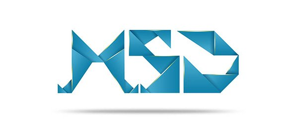 Abstract Geometric Text