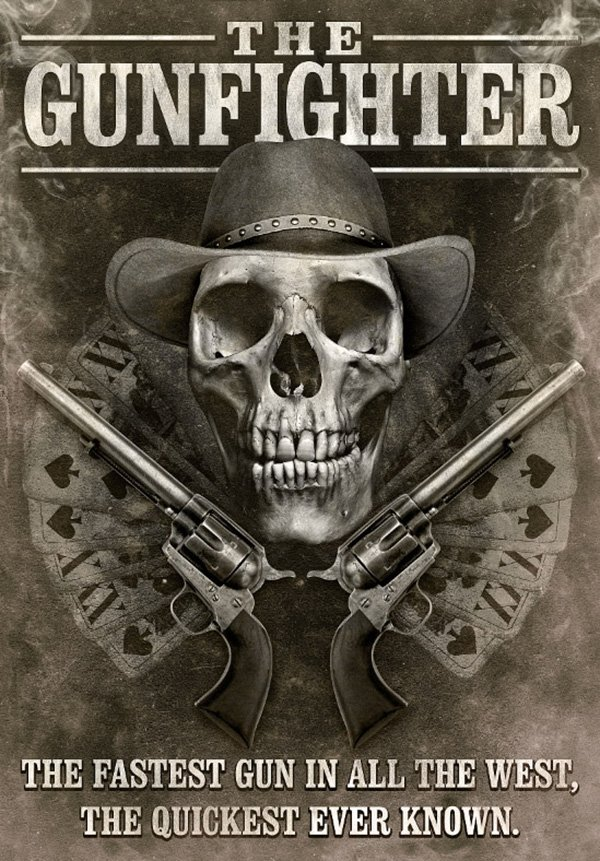 Design a Grungy Western Movie Poster in Photoshop