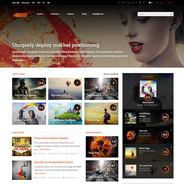 Gauge: Ultimate Review Theme