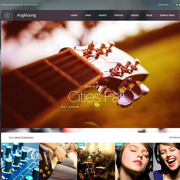 Angkloong - Events & Music WooCommerce Theme