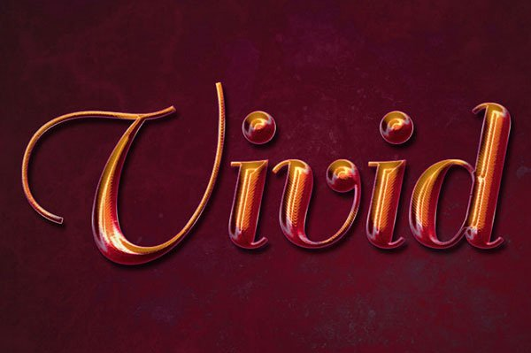 Create a Vivid Ombré Text Effect in Adobe Photoshop
