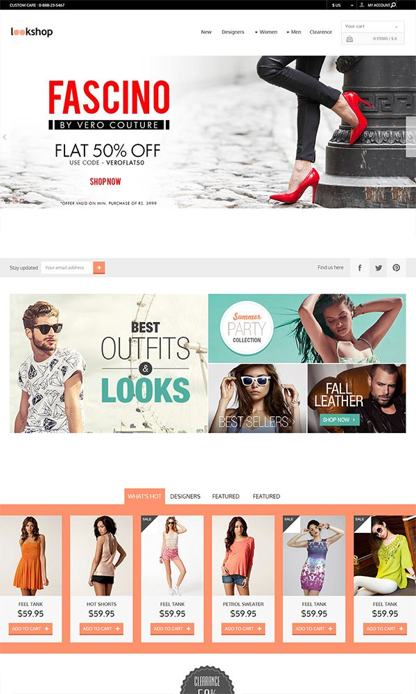 Look Shop - A Flat ECommerce Bootstrap Responsive Web Template