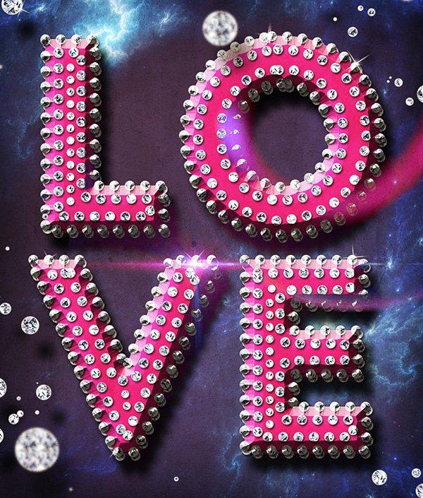 Luxury Text Style For Valentine Party Flyer