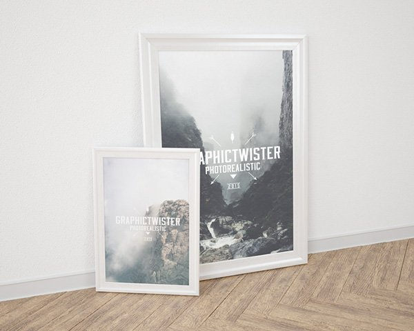 Small and Big Poster Frame