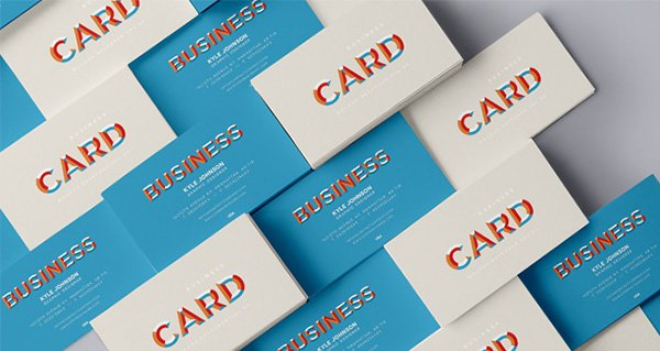 Psd Business Card Mock-Up Vol29