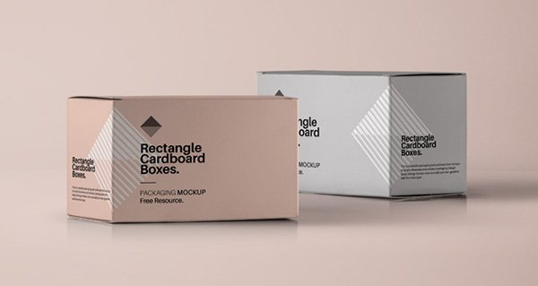 Rectangular Box Mockup