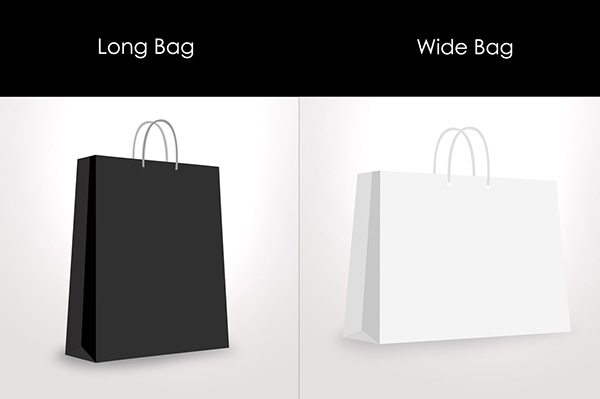 Paper / Shopping bag Mockup