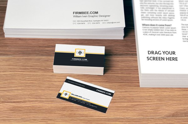 100 High Quality Free PSD Business Card Mock ups Amits