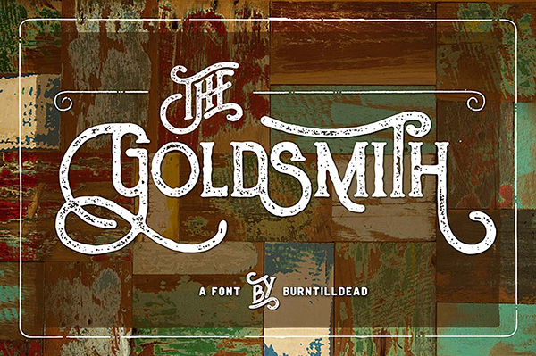 The Goldsmith Vintage – Free Font