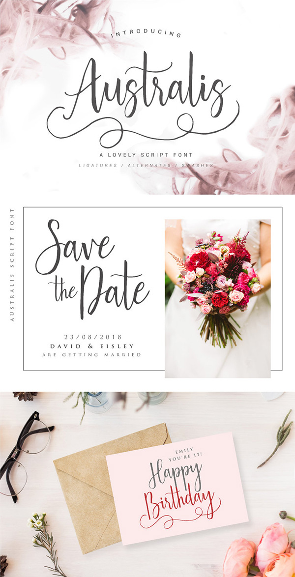 35 Best Wedding Invitation Fonts Free Premium