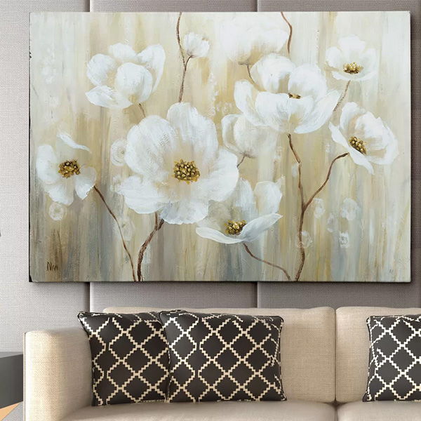 Shimmering Blossoms - Painting Print