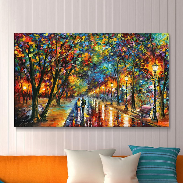 When the Dreams Came True by Leonid Afremov  - Canvas Print