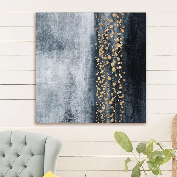 Down the River - Painting Print on Wrapped Canvas