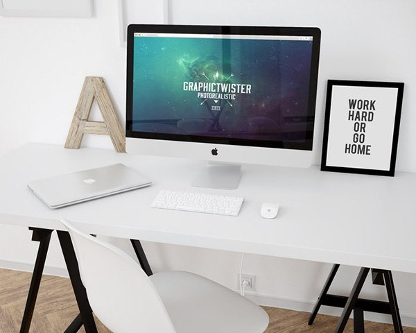 Workspace Mockup Template