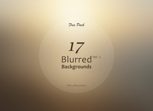 17 Free Blurred Backgrounds