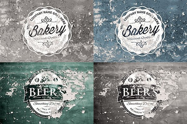 2 Free Vintage Overlay Textures