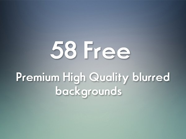 58 Free Blurred HD BG