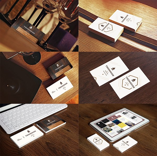 9+ Business Card | TABLET FREE MOCKUP VOL 2