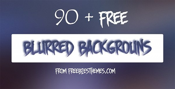 90+ Free Blurred Backgrounds