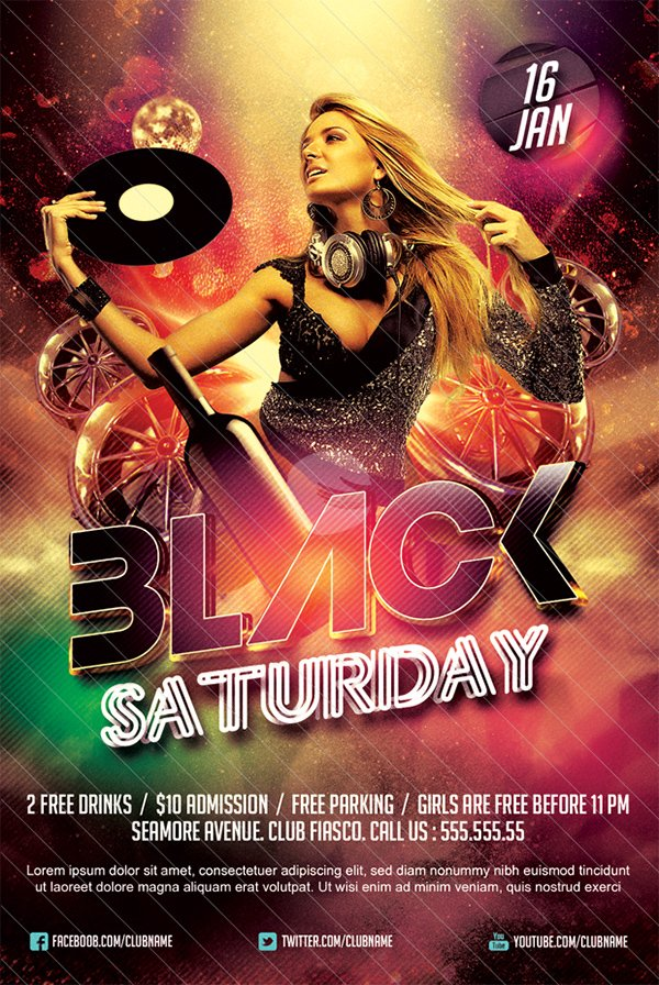 Black Saturday Party