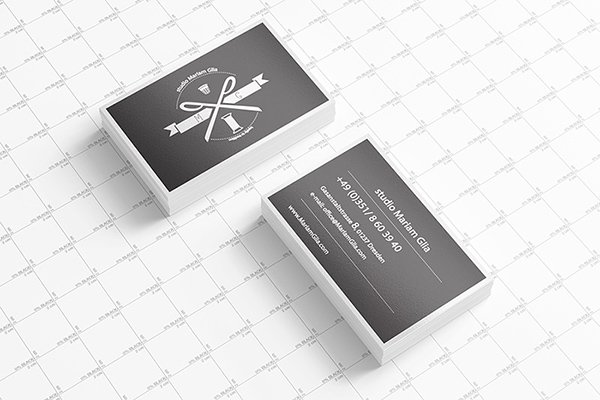 115 high quality free psd business card mock ups page 5 for Business card presentation template psd