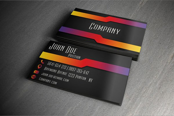 Clean Modern Business Card Design