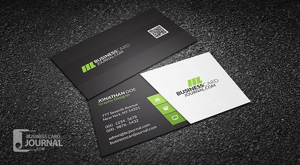 30 amazing free business card psd templates clean stylish corporate business card template fbccfo Images