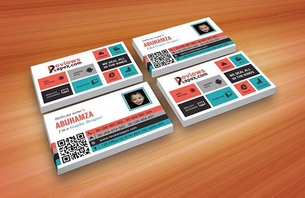 Creative & Metro Style Business Card Template
