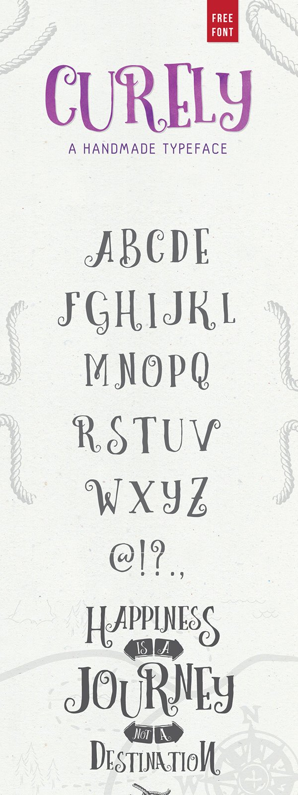 Curely Free Typeface