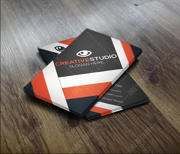 30 amazing free business card psd templates free business card modern template accmission Gallery