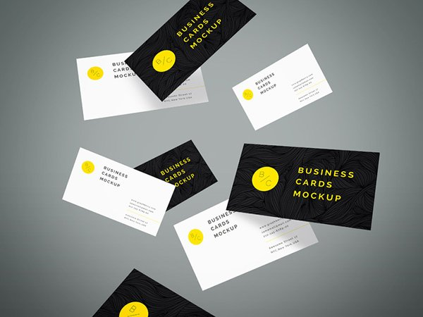 115 free business card mockups flying business cards mockup vol4 colourmoves