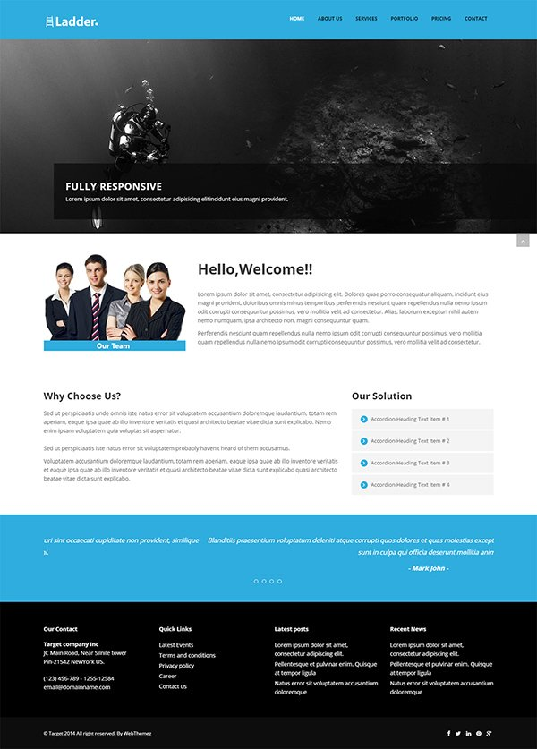 Ladder Multi-purpose Website Template