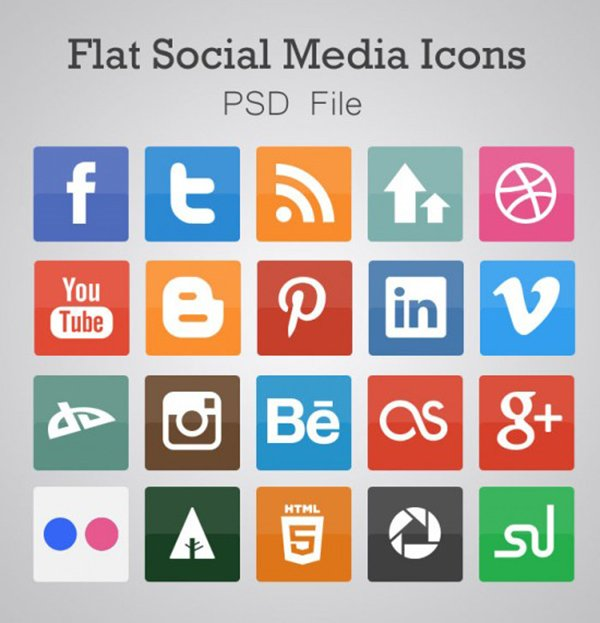51 Absolutely Free Social Media Icons Sets
