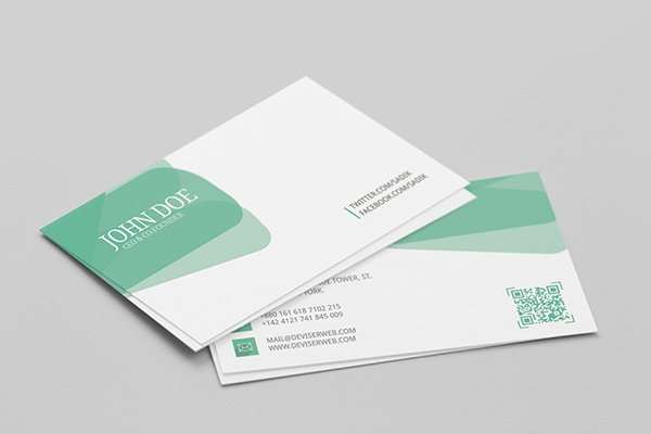 Free Personal Visiting Card Template PSD