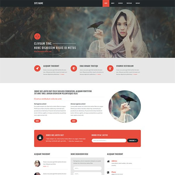 Free Psd Template-128