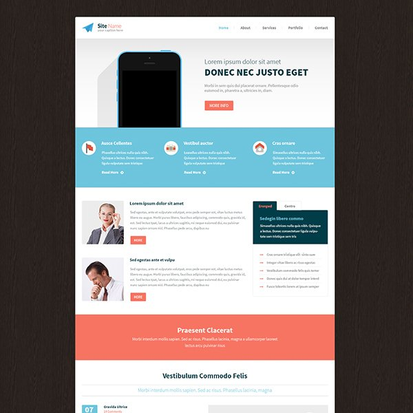 Free Psd Template-130