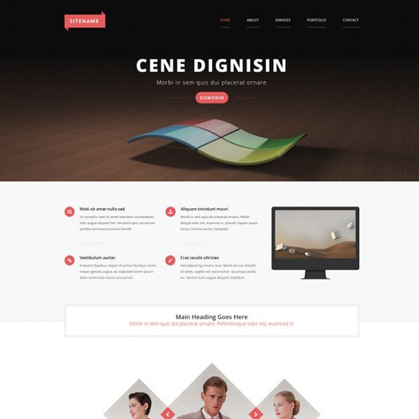 Free Psd Template-131