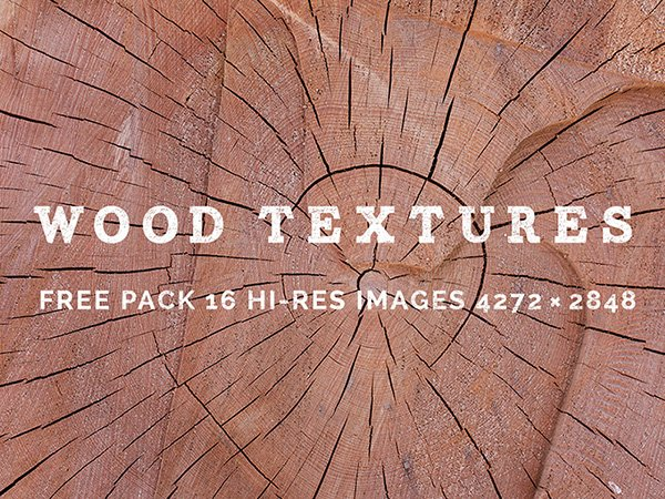 16 Free Wood Textures Pack